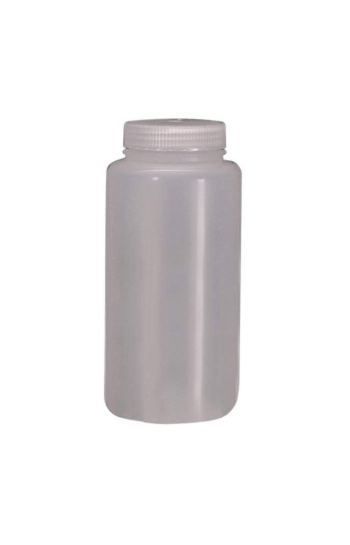 Nalgene Polypropylene Copolymer Wide Mouth Bottle, 1000mL Capacity (Case of 24) by Nalgene