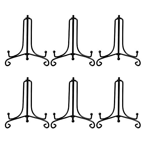 - AllGoodWare 6 Packs Iron Display Stand, 3