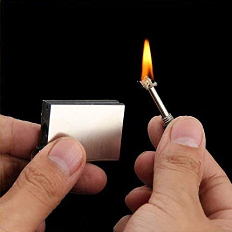 Emergency Survival Camping Fire Starter Lighter Flint Striker Everlasting Match
