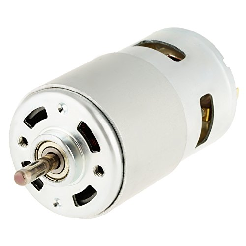 DC Motor,795 12V 12000RPM High Speed Double Ball Bearing Miniature for Electric Tools, Electric Screwdriver, Electric Fan Toys, Juice Machine, Paper Shredder, Vacuum Cleaner