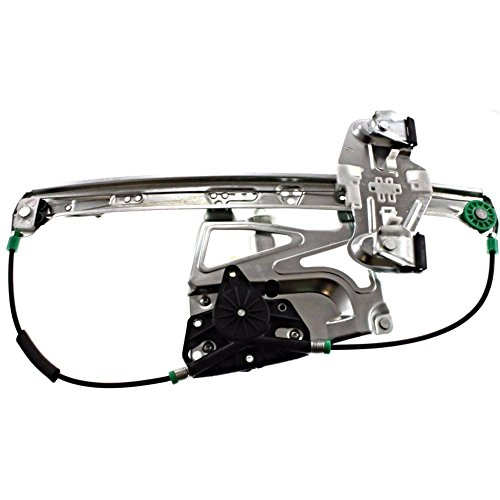 (00-01 Cadillac Deville Power Window Regulator with Motor Front Left Driver)