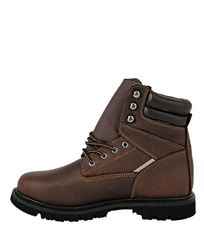 LABO Mens Water Resistant Boot1212 Brown-9.5 U3QHMrDZ