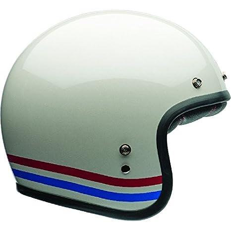 Bell Custom 500 Stripes XS Stripes Pearl White 7070155