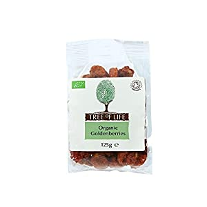 Tree of Life Organic Golden Berries 125g - Pack of 2