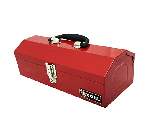 Excel TB109-Red Steel Tool Box, Red by Excel (Image #2)