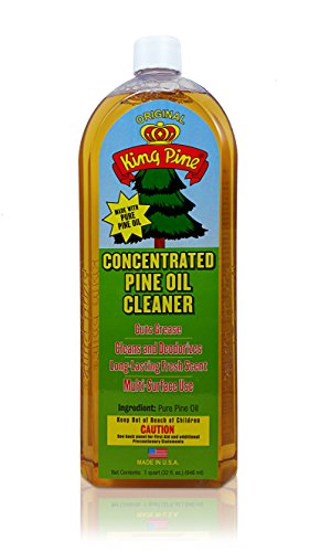 Pine Disinfectant Cleaner - King Pine - Concentrated Pine Oil Cleaner, Multi-Surface Cleaner, Heavy Duty Cleaner, Floor Cleaner (gold 32oz Value Size makes 60 gallons)