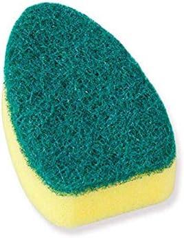 WOHAO Reinigungskit Mit Refill Flüssigseifenspender Scrubber Washmittel Waschreinigungsbürste Couring Pad Schwamm Küchenschüssel, Kopf-2ST (Color : Head-1pc)