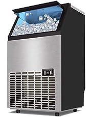 Desktop Ice Maker Grote 15 KG Cube Ice Opslag Automatische 45 Grid Ice Cube Maken Machine met LED-scherm, voor thuis of zakelijk gebruik