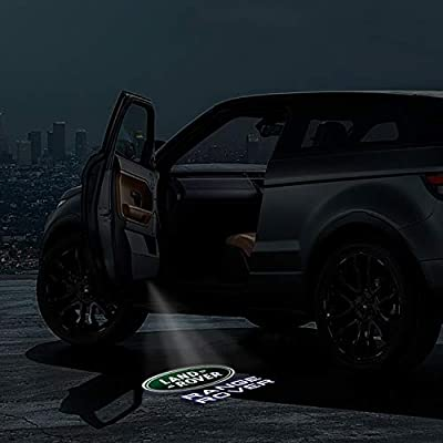 Car Door Led Lights Projector Logo Shadow Ghost Light for Land Rover Range Rover 2007-2020 Compatible Welcome Lamp Accessories and 2pack: Automotive