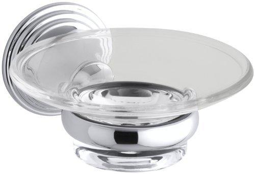 KOHLER K-10560-CP Devonshire Soap Dish, Polished Chrome Color: Polished Chrome, Model: 10560-CP, Hardware -
