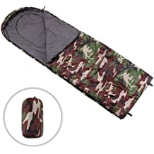 Track Man Envelope Lightweight Sleeping Bag,Comfort with Stuff Sack,Great for 3 Season Backpacking,Camping and Hiking