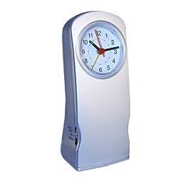 Natico Originals Desk, Office/Home Alarm Clock, Flashlight and Night Light (10-212)