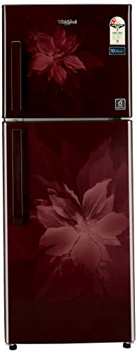 Whirlpool 245 L 2 Star Frost Free Double Door Refrigerator(Neo FR 258 CLS Plus 2S, Wine Regalia)