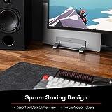 Macally Vertical Laptop Stand for Desk - Adjustable