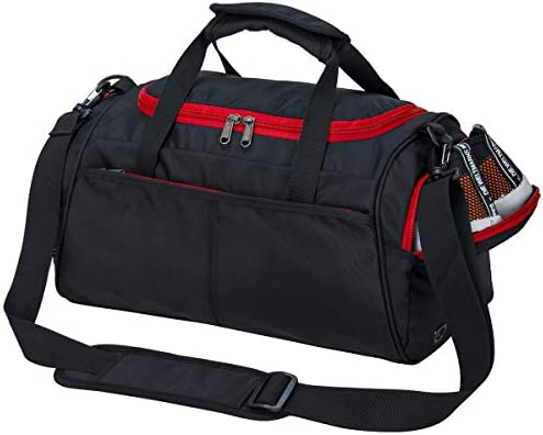 045ae6f0baaa Kuston Small Sports Gym Bag Duffel bag mini travel duffel with shoe  compartment for Men Women. Loading Images... Back. Double-tap to zoom