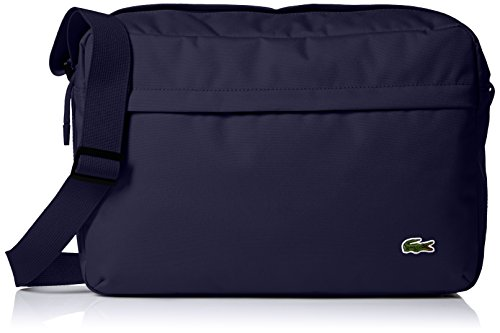 Lacoste Men's Neocroc Messenger Bag, Peacoat by Lacoste