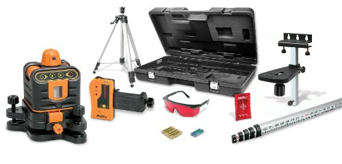 Johnson Level & Tool 40-6512 Manual Leveling Rotary Laser...