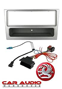 T1 Audio VW Beetle Facia Pack - VW Beetle 1998 Onwards Complete Car Stereo Fitting Kit - Single Din Black Facia, ISO Aerial Adaptor and Removal Keys by T1 Audio
