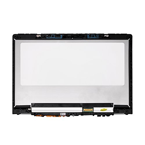 LCDOLED Compatible 11.6'' N116HSE-EBC FullHD 1080P LCD Display Touch Screen Digitizer Assembly + Bezel Replacement for Lenovo Yoga 710 710-11ISK 710-11IKB 80TX 80V6 80TX0007US 80V6000PUS 80TX0007US by LCDOLED (Image #1)