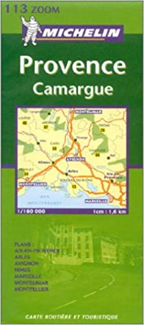 Camargue Karte.Michelin Karten Bl 113 Provence Camargue Französische Ausgabe