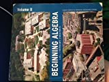 Beginning Algebra, Vol. 2, 10th Edition (Custom Edition for Middlesex Community College) 9780536455512