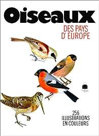 Oiseaux des Pays d'Europe par Jirí Felix