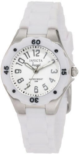 Invicta Women's 1626 Angel Collection Rubber Watch