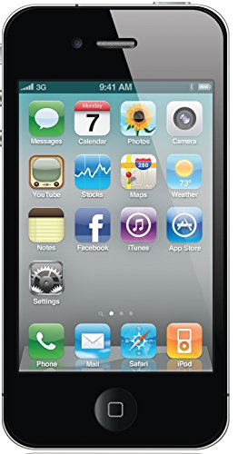 Apple iPhone 4 8GB, Unlocked (Black)