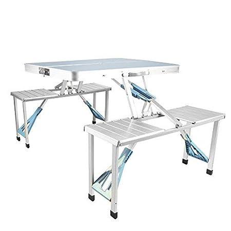 Mesa Plegable Mesas de Puesto al Aire Libre Tipo de Maleta Mesas y ...
