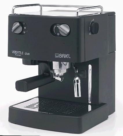 Briel Cafetera expreso Versatile DUE es38 a - Tb - negro: Amazon ...