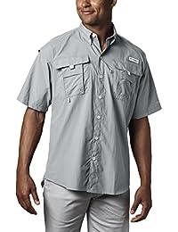 Men's PFG Bahama II Short Sleeve Breathable Fishing Shirt