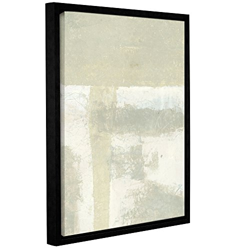 ArtWall Elana Ray's Neutral Abstract Gallery Wrapped Floater Framed Canvas, 36 x 48'', Multicolor by Art Wall