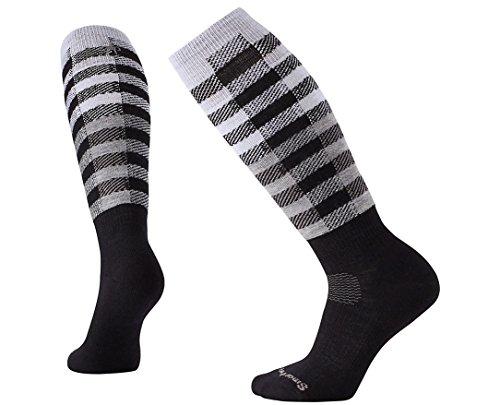 SmartWool Women's PhD Slopestyle Light Ifrane Socks (Black) Medium (Smartwool Phd Ski Womens)