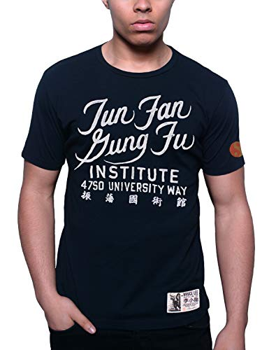 Roots of Fight Officially Licensed Men's Bruce Lee JFGF Institute Seattle Tee, Size Large - Fight Mens Tee