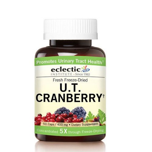 Urinary Tract Cranberry, 50 Caps by Eclectic Institute Inc (Pack of 3)