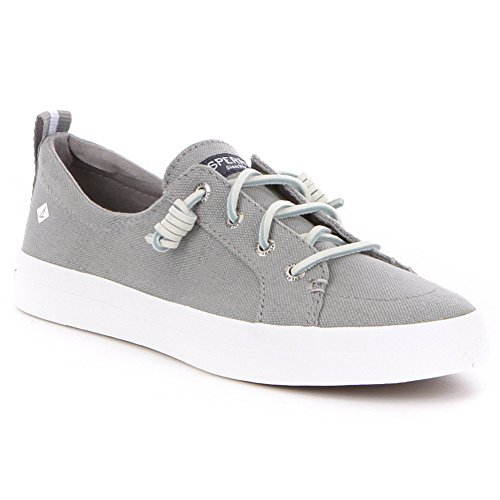 Sperry Top-sider Donna Crest Vibe Crepe Chambray Sneaker Grigio