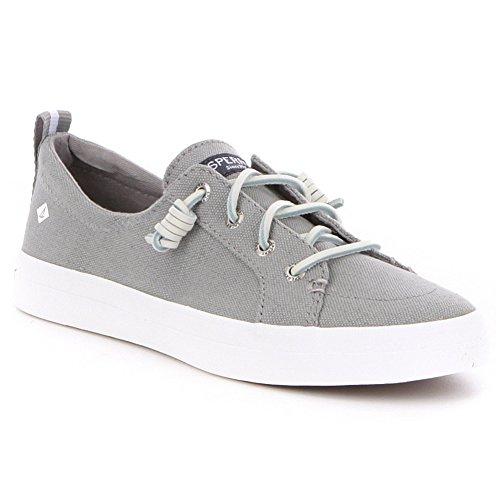 Sperry Damen Crest Vibe Leinen Sneaker Grau