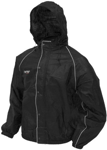 Frogg Toggs Road Toad Jacket, Black, 3X-Large