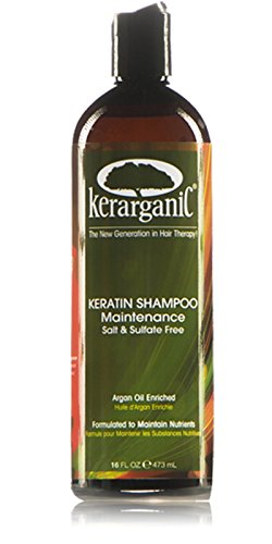 ORGANIC KERATIN TREATMENT - SALT & SULFATE FREE SHAMPOO - 16oz