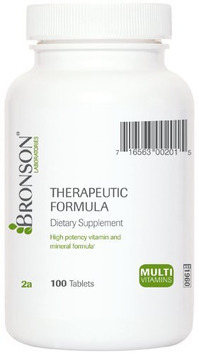 Therapeutic Vitamin and Mineral Formula (100)