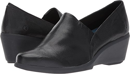 Hush Puppies Women's Fraulein Mariya Slip-on Loafer, Black, 6.5 M (Hush Puppies Skimmer)