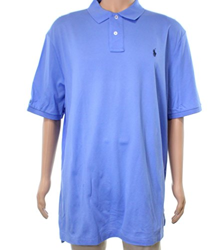 ns Short Sleeve Polo Rugby Shirt Blue XS ()