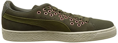 Olive Basses Vr Lace Suede Puma Femme Sneakers Xl Night TtF0XFxcq