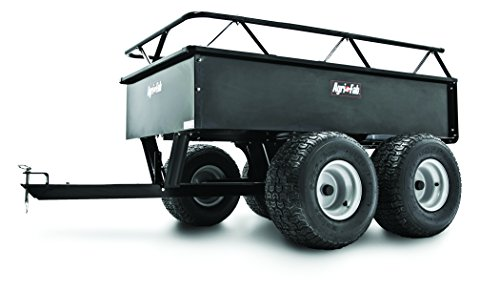 Agri-Fab 1000-Pound Heavy Duty Steel ATV Tow Tandem Axle Cart  45-0350 by Agri-Fab