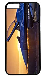 Army Military Aircraft Sunrise Thanksgiving Easter PC Black Case for Masterpiece Limited Design iphone 6 by Cases & Mousepads