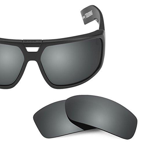 Verres de rechange pour Spy Optic Touring — Plusieurs options Noir Chrome MirrorShield® - Polarisés