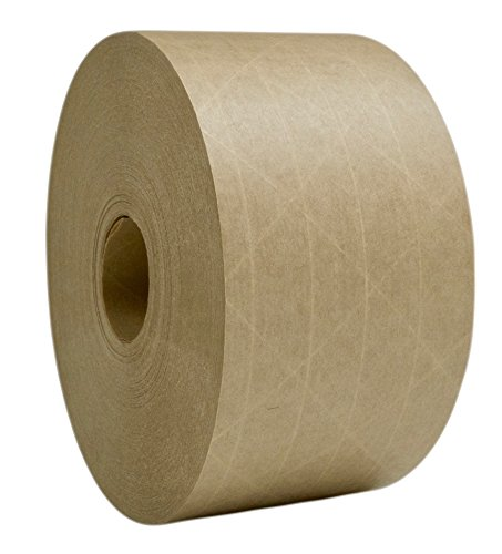 Paper Carton Sealing Tape (Quik Tak Premium Reinforced Gummed Kraft Paper Carton Sealing Tape, 2.75 Inches x 375 Feet)