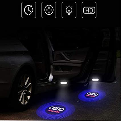 Iluminación de entrada para puerta de coche, proyector, 4 unidades ...