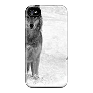 Iphone 4/4s Case Cover Wolves Winter Case - Eco-friendly Packaging