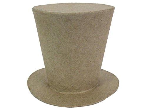 Craft Ped Paper CPLLM0016 Mache Mad Hatter Hat Medium, 3.75